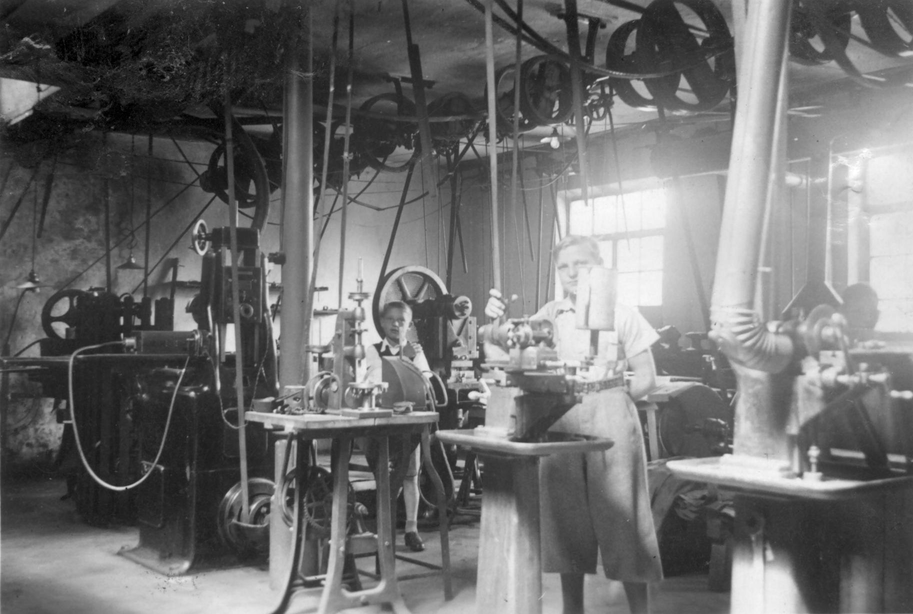 Eisen sharpeners history