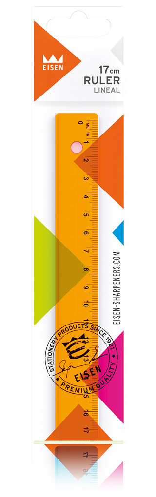 colorline rulers #P239/92