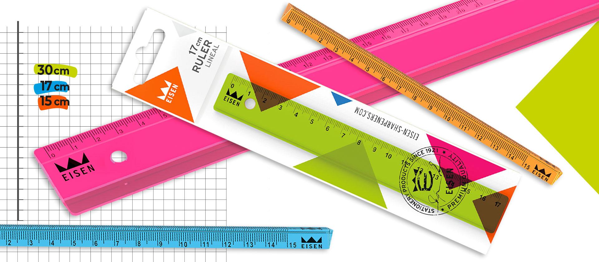 eisen colorline rulers