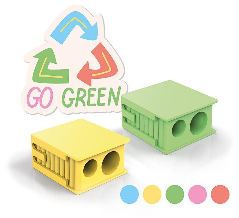 eisen ecoline sharpeners - go green