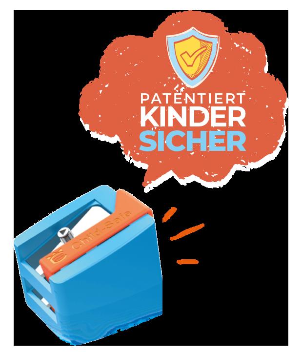 Vorschulspitzer - patentiert Kindersicher