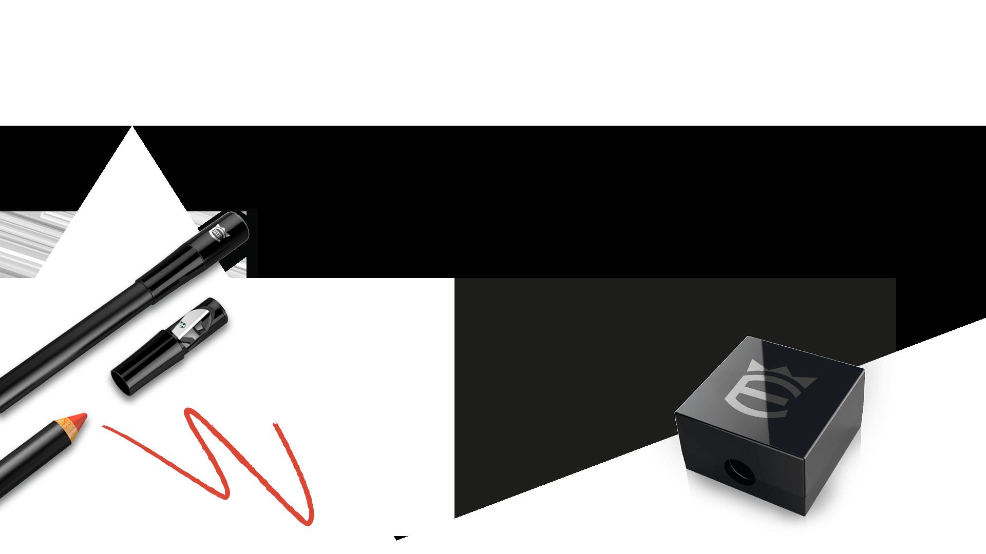 Eisen cosmetic sharpener