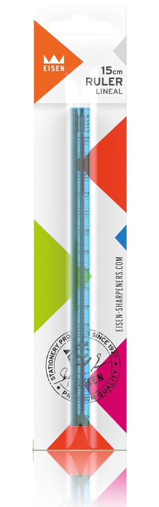 Inspirationen-Color-Line-Ruler-Master-L116-Blue